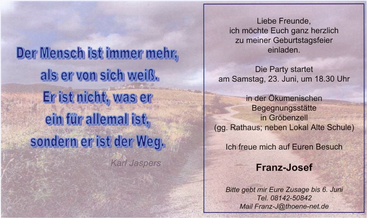 Franz-Josef 50